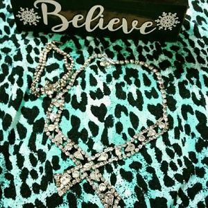 💎Bundle💎Vintage💎rhinestone necklace&bracelet